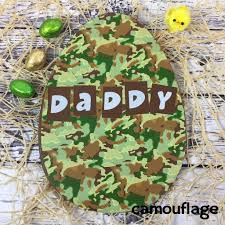 camouflage easter eggs large chocolate easter egg personalised gift by chocolate by