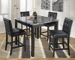 maysville black d154 counter dining table set
