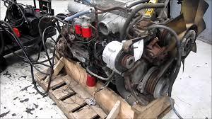 ford truck diesel engines 1990 ford 7 8l diesel engine running