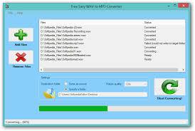 Mp3 Converter Free Easy Wav To Mp3 Converter