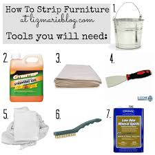 How To Repaint Furniture by How To Strip Painted Furniture