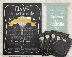 balloon time capsule etsy