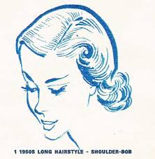 drawing of bob hair 77 best 50s images on pinterest retro hairstyles rockabilly