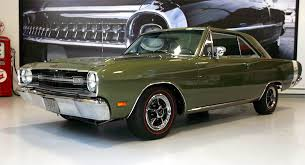69 dodge dart 69 green dodge dart