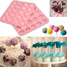 online cheap silicone cake chocolate lollipop pop fondant mold