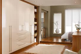 Bedroom Furniture Wardrobes High Gloss Cosmopolitan Bedroom Furniture Range In Classic Cream
