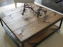 coffee table square industrial coffee table remarkable black and