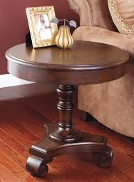 ashley furniture round coffee table buy ashley furniture t496 6 brookfield round end table