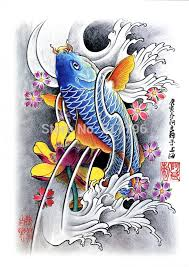 pdf format tattoo book 60pages beautiful koi fish flower tattoo