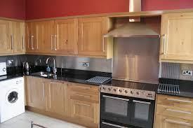 kitchen backsplash stainless steel kitchen with stainless steel backsplash and appliances home