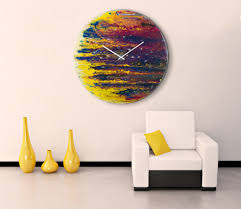 Abstract Home Decor 30 Large Wall Clocks That Don U0027t Compromise On Style