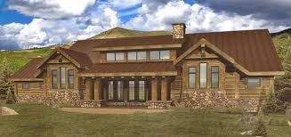 One Floor Homes One Level Log Cabin Log Homes Cabins And Log Home Floor
