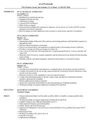 hvac resume exles hvac apprentice resume sles velvet