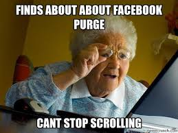 purge meme the meme folder dumperino el purge o of unusual size