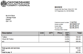 pay an invoice online oxfordshire county council