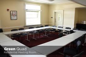 Building Dining Room Table University Housing Virtual Tour Green Quad