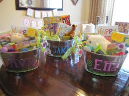 painted easter buckets don t stress 4 easy easter basket ideas