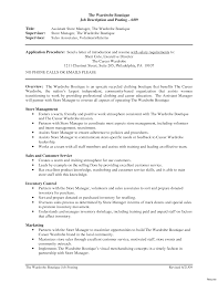 exle of work resume resume objective statement sles for retail sle exles