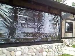 harbor awning clear vinyl porch enclosure 2 youtube