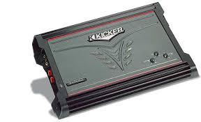 kicker zx750 1 mono subwoofer amplifier 750 watts rms x 1 at 2