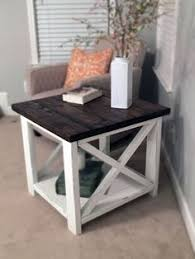 coffee table and end tables diy farmhouse end tables diy projects pinterest diy furniture