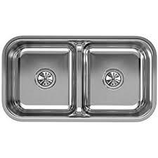 Used Stainless Steel Sinks Befon For Elkay Lustertone Eluhaqd32179 40 60 Double Bowl Undermount