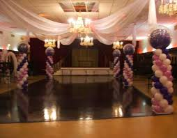 Ceiling Drapes For Wedding Helium Balloons Balloon Drop Ceiling Balloon Decoration And