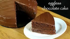 how to make eggless chocolate cake basic chocolate cake easy