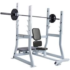 hammer strength olympic military bench life fitness strength