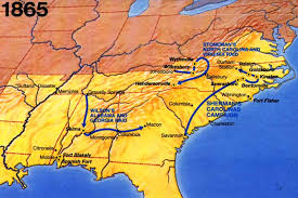 map us states during civil war american civil war caign area and battle maps