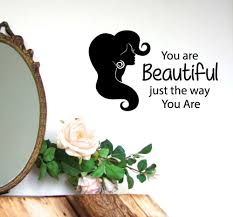 compare prices hair beauty quotes online shopping buy low wall decals hair quotes fashion girl vinyl sticker art beauty salon decor china mainland