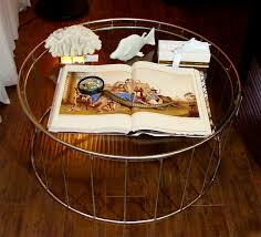 Glass Round Coffee Table by How To Decorate A Round Coffee Table Coffee Table Marvelous White
