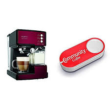 Mr Coffee BVMCECMP1106 Cafe Barista Espresso Maker Machine Red