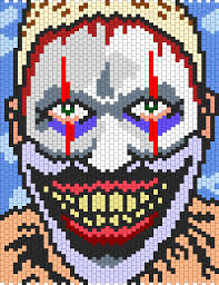kandi patterns twisty the clown from american horror story freak
