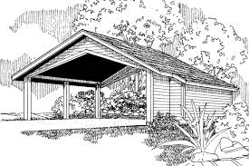 traditional house plans carport w storage 20 048 associated