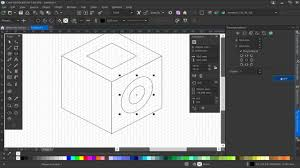 corel designer intuitive projected drawing tools in corel designer 2017