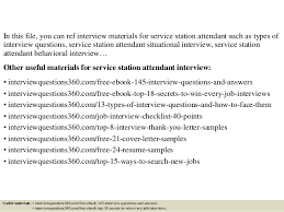 top 10 service station attendant interview questions and answers
