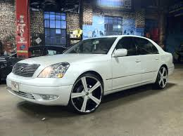 lexus ls430 rim size ls430 with massiv wheels no limit inc