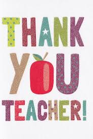 thank you cards for teachers thank you card karenza paperie