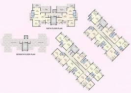 968 sq ft 2 bhk 2t apartment for sale in k w rose garden panvel mumbai