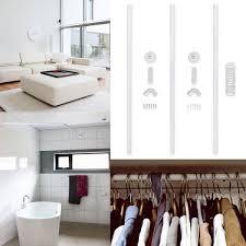 100 ceiling mount bracket for shower curtain rail rod aluminium