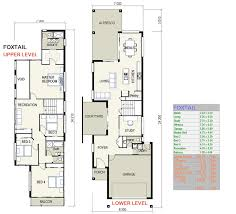 house plans for a narrow lot homey design narrow lot house plans qld 1 foxtail small nikura