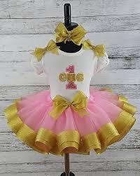 ribbon tutu pink gold glitter ribbon tutu t shirt set ages 1 2 3 4 5 the