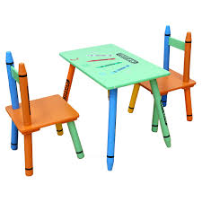 crayola table and chairs kiddi style crayon table chairs green kiddy products