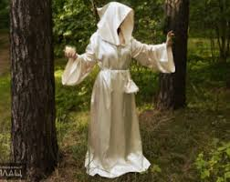 druidic robes druid gown etsy