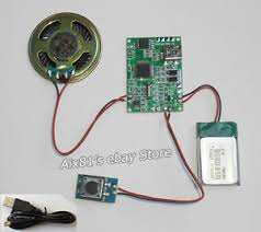 usb mp3 module for greeting card gift box soundboard cards