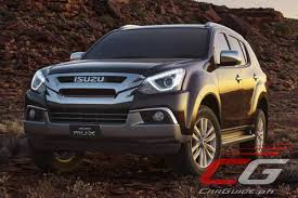 Isuzu Philippines Previews Euro 4 Compliant Mu X And D Max