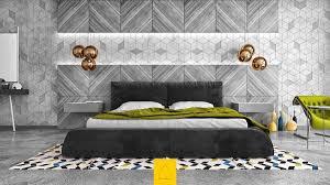 Bedroom Wall Tiles Design Bedroom Blue And White Matresses Brown Wooden Floor Chic