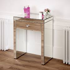 Venetian Mirrored Console Table Console Tables Narrow Mirrored Console Table Shallow Depth