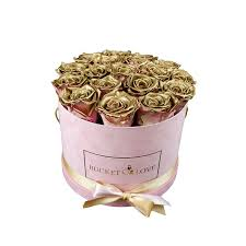 gold roses gold roses in a box for you chosen one of